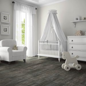 Pram in baby room | Gillenwater Flooring