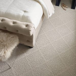 Bedroom white Carpet | Gillenwater Flooring