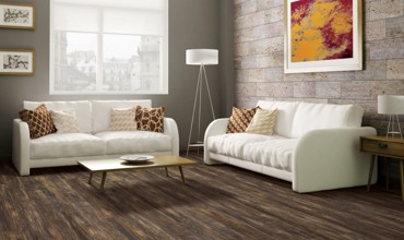 Living room wall design | Gillenwater Flooring
