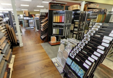 Gillenwater showroom | Gillenwater Flooring