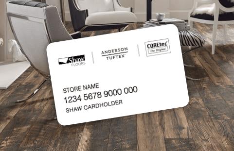 Flooring financing credit card | Gillenwater Flooring