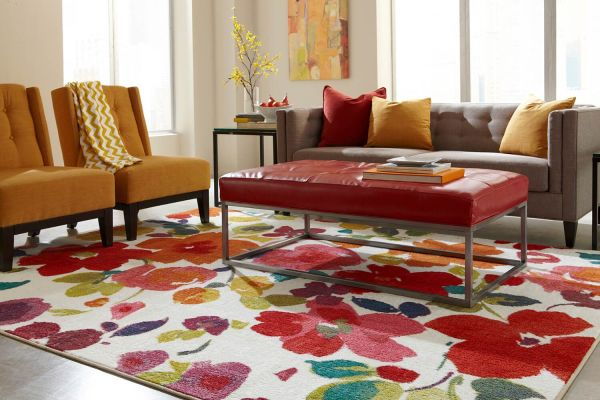 Fun Floral Rugs for Your Home