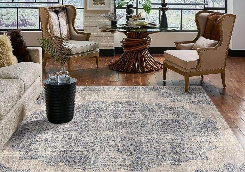 Living room Area Rug | Gillenwater Flooring