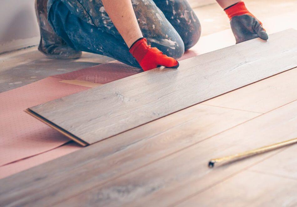 Hardwood installation | Gillenwater Flooring